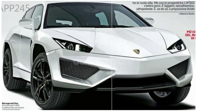 Внедорожник от Lamborghini будет называться Urus