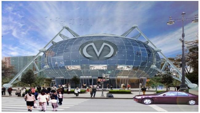 """Над """"Фрунзенской"""" могут построить диспетчерский центр в виде паука"""