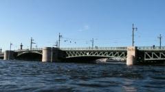 Прыгуна с Дворцового моста спасатели пока не нашли