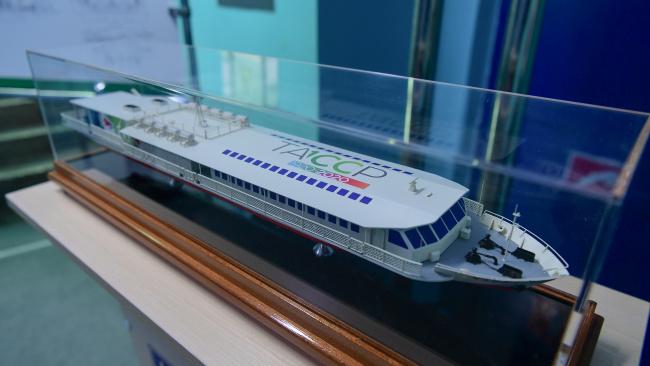 В РФ заложено первое пассажирское судно, которое будет работать на СПГ