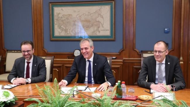 Газпром и австрийская OMV обсудили «Северный поток-2» и поставки газа