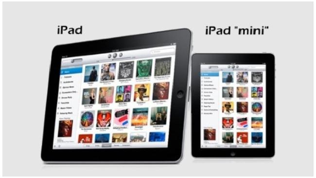 СМИ: продажи iPad mini начнутся 2 ноября