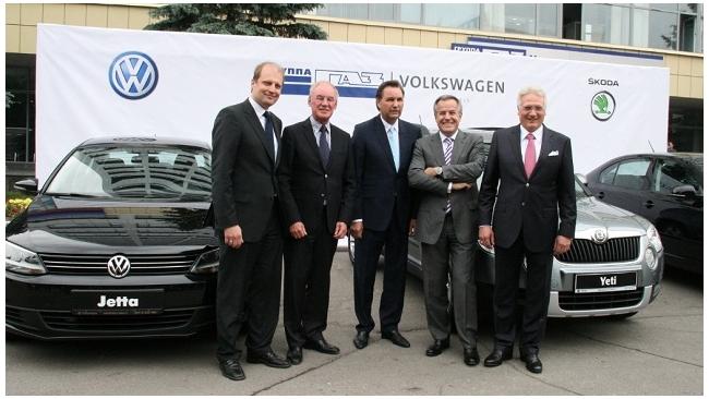 ГАЗ с 2014 года будет производить 110 тысяч Skoda и Volkswagen ежегодно