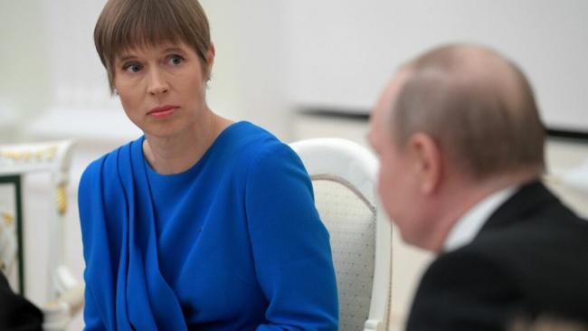 Президент Эстонии предложила Путину посетить конгресс финно-угорских народов