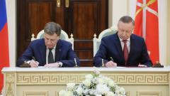 Подписан план совместный план законопроектной работы ЗАКС и губернатора Петербурга