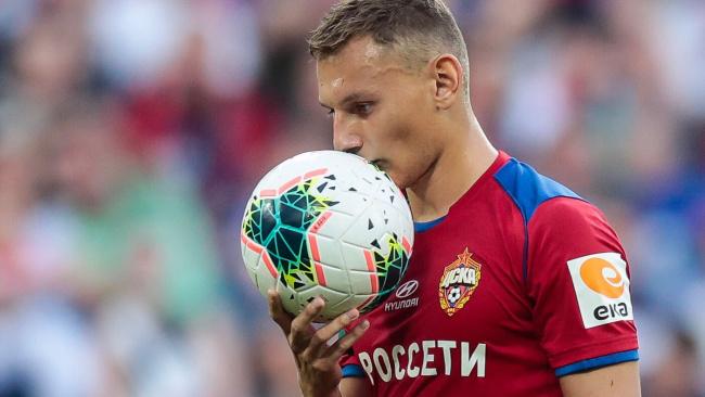 Агент Чалова рассказал о снижении интереса к форварду ЦСКА в Англии