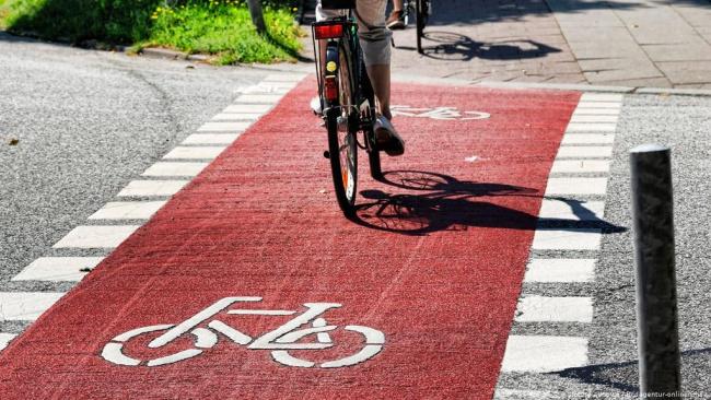 В следующем году в Петербурге появится 13 километров велодорожек