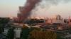 Крупный пожар на территории лакокрасочного завода ...