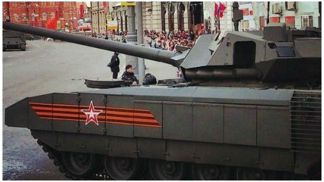 "Танк ""Армата"" усилят более мощной пушкой калибром 152 мм"