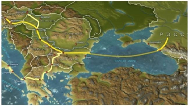 """Газпром сообщил о принятии инвестиционного решения по морской части """"Южного потока"""""""
