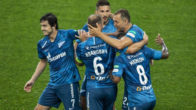 """Четыре игрока """"Зенита"""" вошли в символическую сборную 24-го тура РПЛ"""