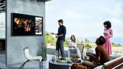 Samsung представила телевизоры для улицы