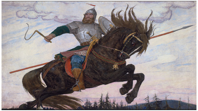 Картина художника Васнецова побила рекорд на аукционе Christies