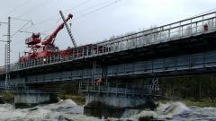 Недалеко от Мурманска поврежден ж/д мост его ремонт займет 2-3 недели