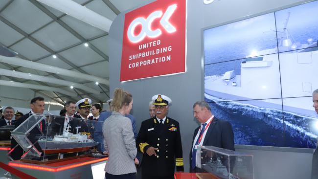 ОСК представила на международной выставке «Defexpo India-2020» продукцию российского судостроения
