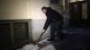 Игорь Албин убрал снег во дворе на Рубинштейна, 23-25