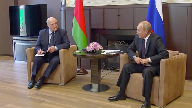Владимир Путин: Россия предоставит Белоруссии госкредит на $1,5 млрд