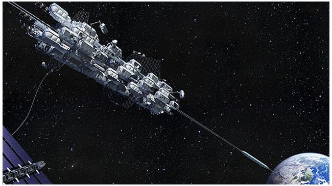 Японская Obayashi Corp. заявила о возможности строительства космического лифта