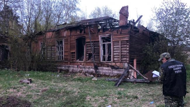 За поджог исторического здания в Новой Ладоге  Следственный комитет возбудил уголовное дело