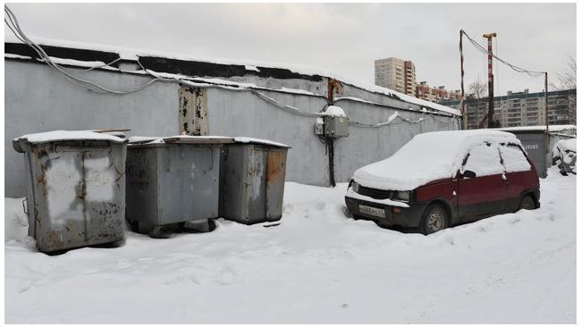 На Планерной инвесторы выселяют владельцев гаражей