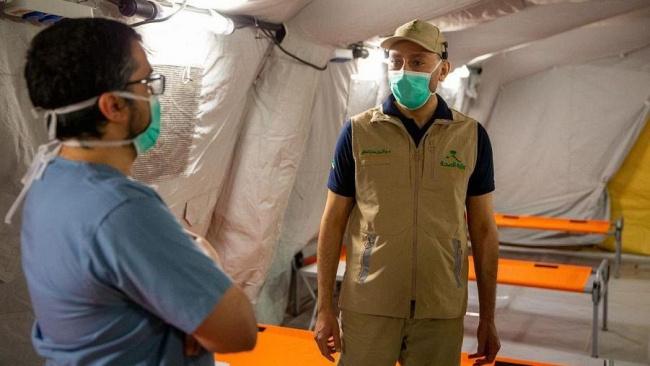 В Саудовской Аварии военные построили два госпиталя для больных коронавирусом