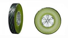 Bridgestone разработала безвоздушную шину на спицах