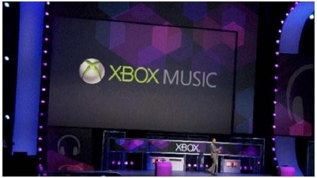 Microsoft запускает свой музыкальный сервис Xbox Music