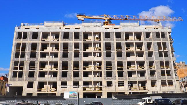 Группа RBI построит гостиницу на Киевской улице