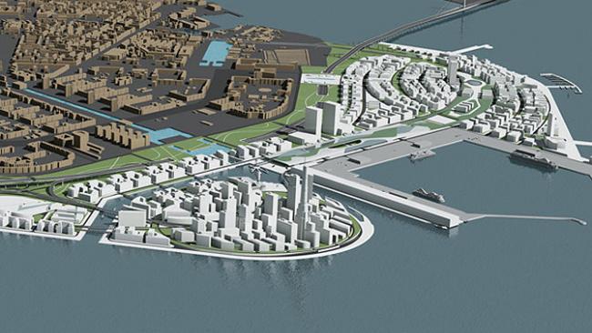 Намывные острова в Финском заливе придадут новый импульс развитию Петербурга