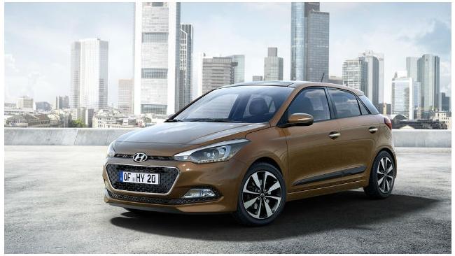 Появились первые фото обновленного хэтчбека Hyundai