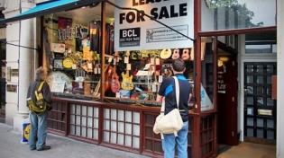 Ник Мэйсон спас музыкальный магазин Foote
