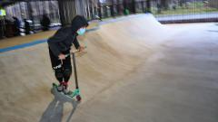Под Коломяжским путепроводом открыт скейт-парк