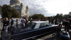 В Кронштадте выставили инвестиционные автомобили