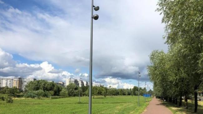 В парке Интернационалистов установлено около 600 светильников