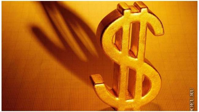 Биржевой курс доллара вновь оказался ниже 57 рублей