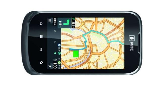 МТС представил смартфон с GPS и ГЛОНАСС