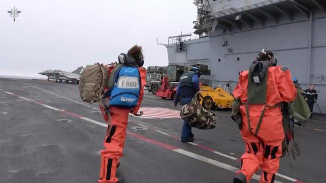 На борту французского авианосца «Шарль де Голль» коронавирусом заболело 50 человек