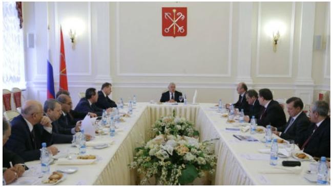 Полтавченко представил новых вице-губернаторов в Смольном
