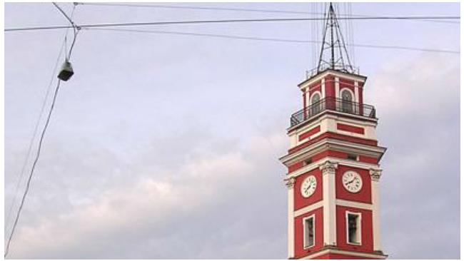 Сбербанк в честь дня рождения запустит старинные часы на Думской башне