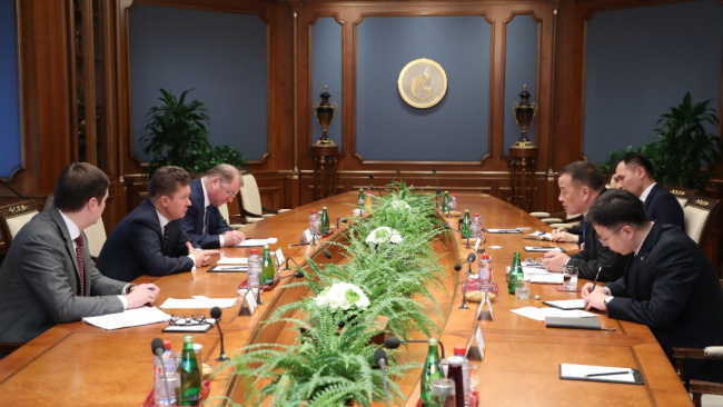 Газпром рассматривает возможность поставок газа в КНР через Монголию