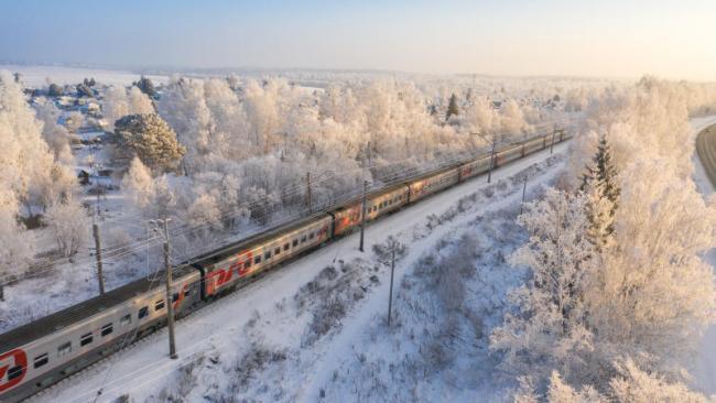 РЖД в январе-ноябре снизили перевозку пассажиров на 27,5%