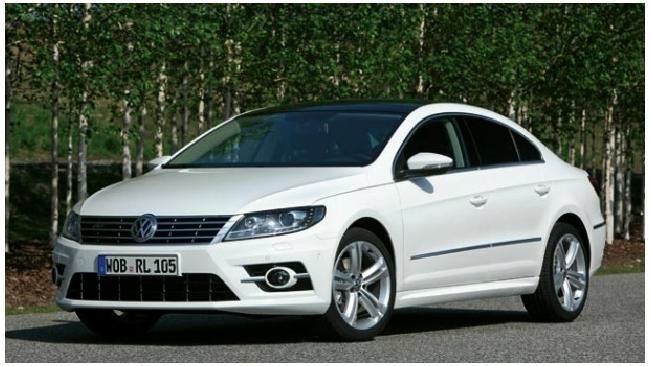 Volkswagen представил седан CC R-Line 2013
