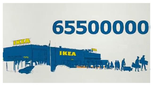 В 2011 году продажи IKEA больше всего выросли в России, Польше и Китае