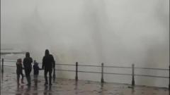 Семью из Пензаса накрыло штормовой волной