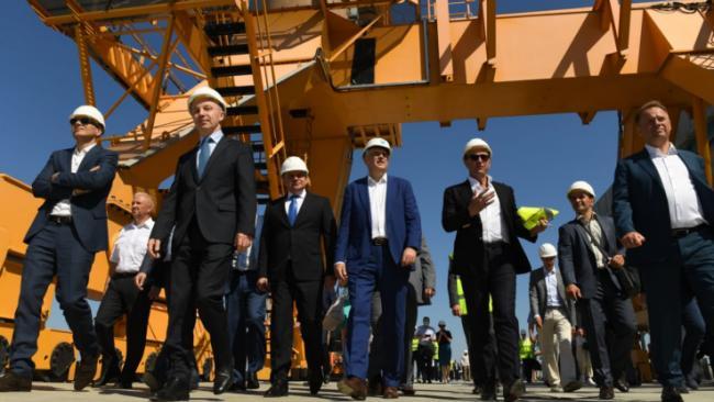 Терминал по перевалке удобрений в Усть-Луге принял первый грузовой состав