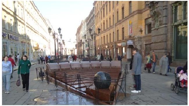 Члены совета по культурному наследию хотят убрать фонтан с Малой Садовой