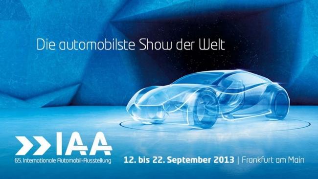 Во Франкфурте стартует 65-й Международный автосалон IAA