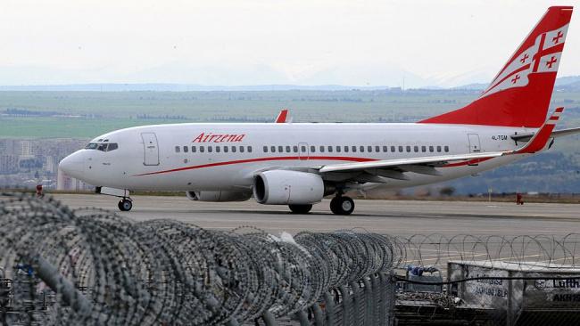 Россия намеревается возобновить авиасообщение в Грузию