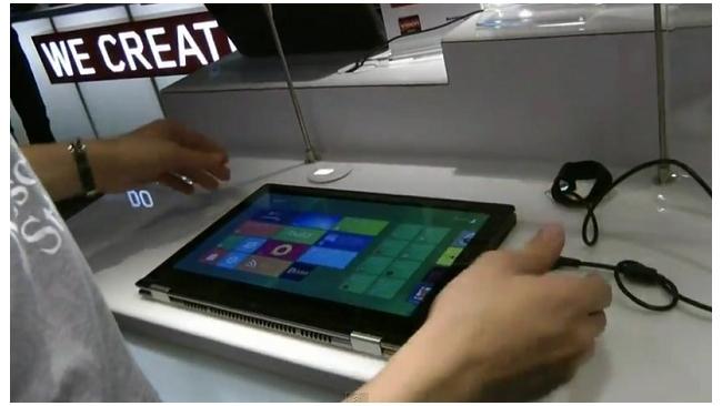 Планшет-ультрабук Lenovo IdeaPad YOGA будет стоить от 1900 долларов