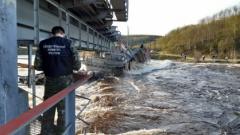 Возбуждено уголовное дело по факту обрушения моста в Мурманской области